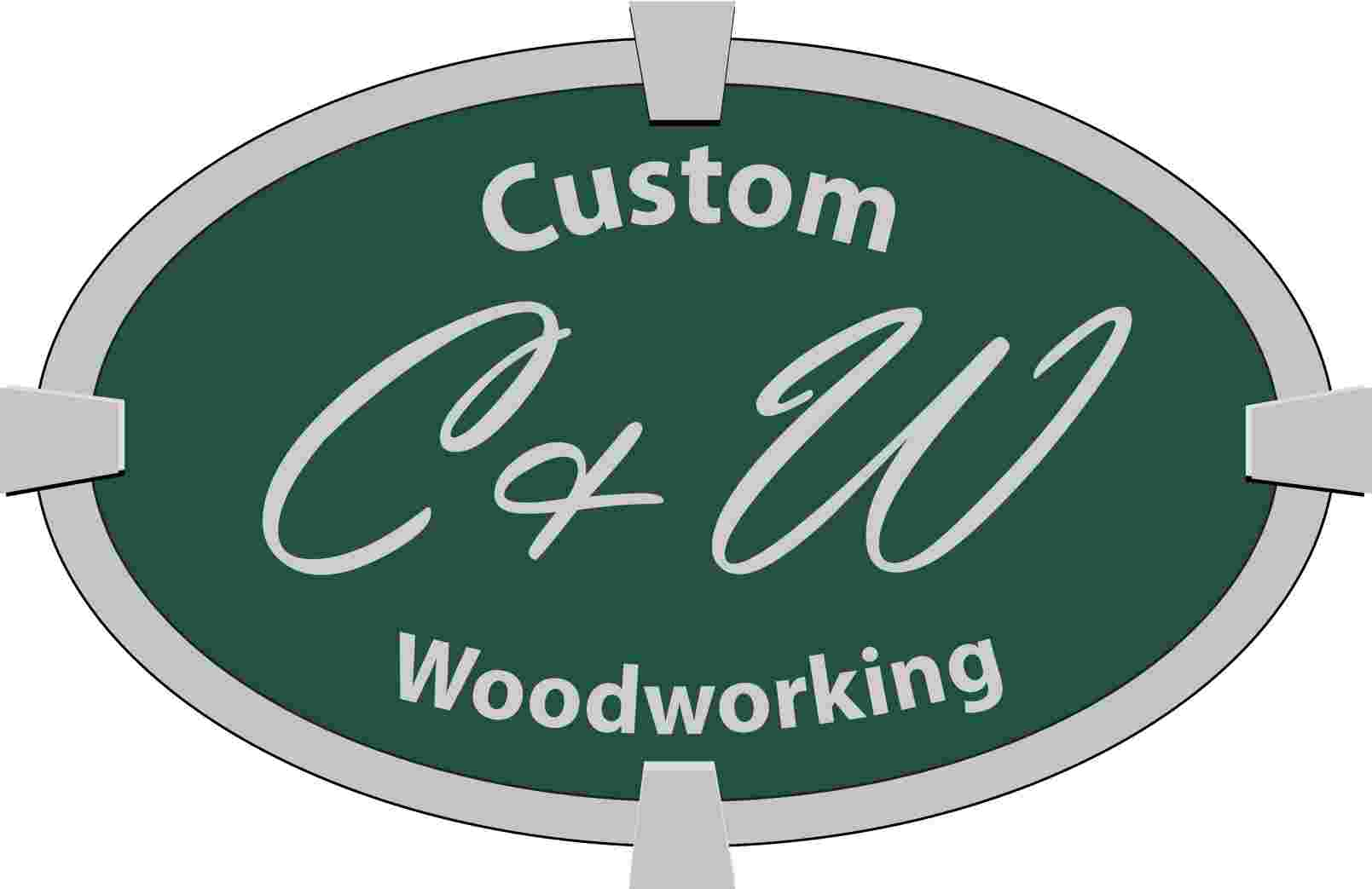 C & W Custom Woodworking logo