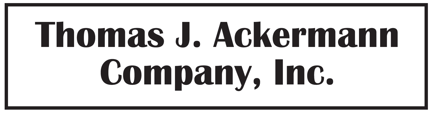 Thomas J. Ackermann Co., Inc. logo